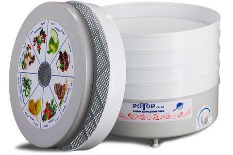 Электросушилка для овощей и фруктов РОТОР СШ-002 на 5 ярусов (20 литров), фото 2