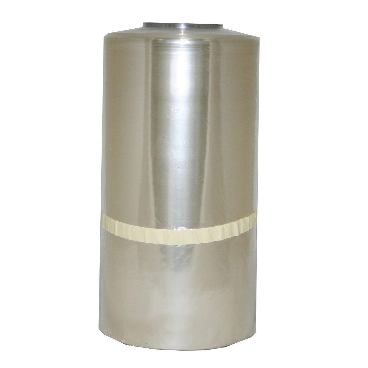 Плёнка термоусадочная полурукав ПВХ 300/600мм х 650м, 12,5мкм, шампань