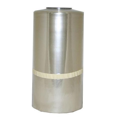 Плёнка термоусадочная полурукав ПВХ 300/600мм х 650м, 12,5мкм, шампань, фото 2