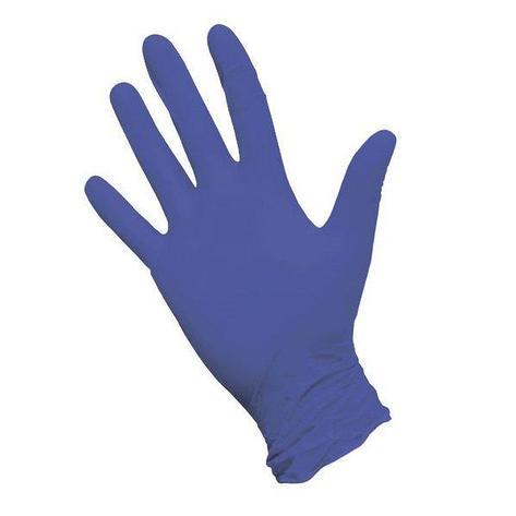Перчатки нитриловые неопудр. NitriMax р-р L, фиолетовые, 50 шт, фото 2