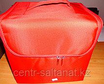Кейс для визажиста красный