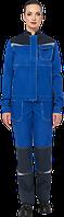 Костюм василек-синий, женский