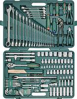 "S04H524127S (S04H524127S18) Набор инструмента универсальный 1/2"", 1/4""DR, 127 предметов, фото 1"