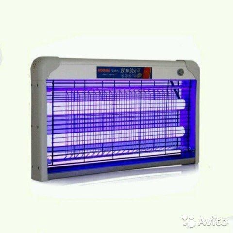 Ультрафиолетовый уничтожитель комаров и мух 20 В - фото 1