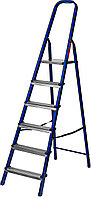 Лестница-стремянка стальная, 6 ступеней, 121 см, MIRAX, фото 1