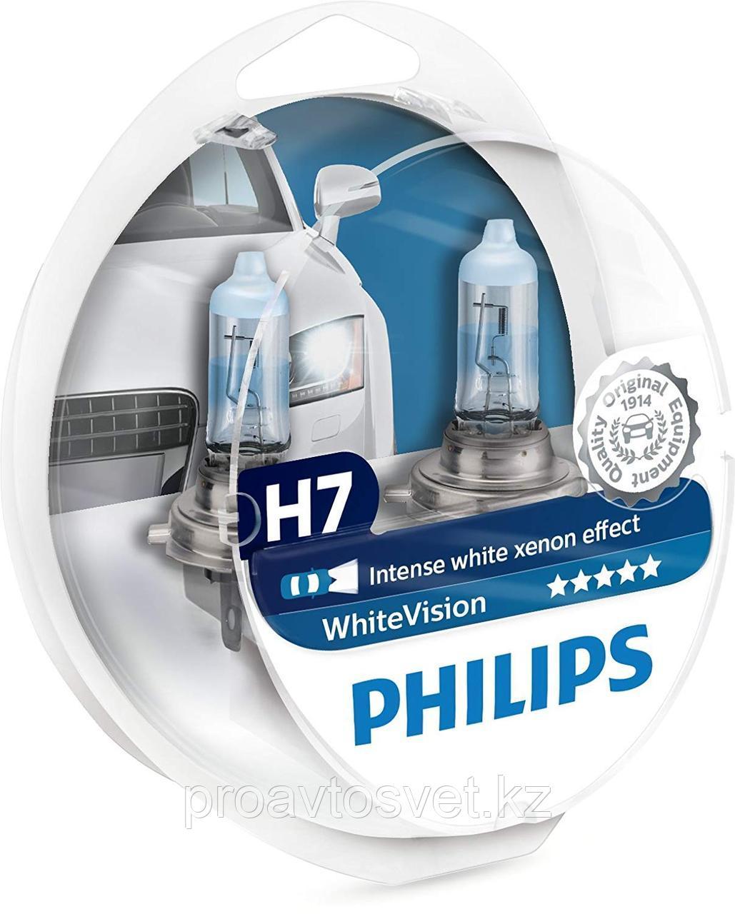 PHILIPS H7 W5W 12972 White Vision 12V S2