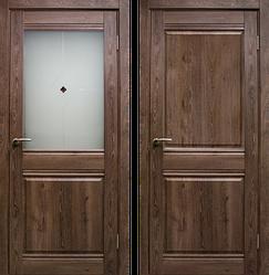 Дверь Омега со стеклом