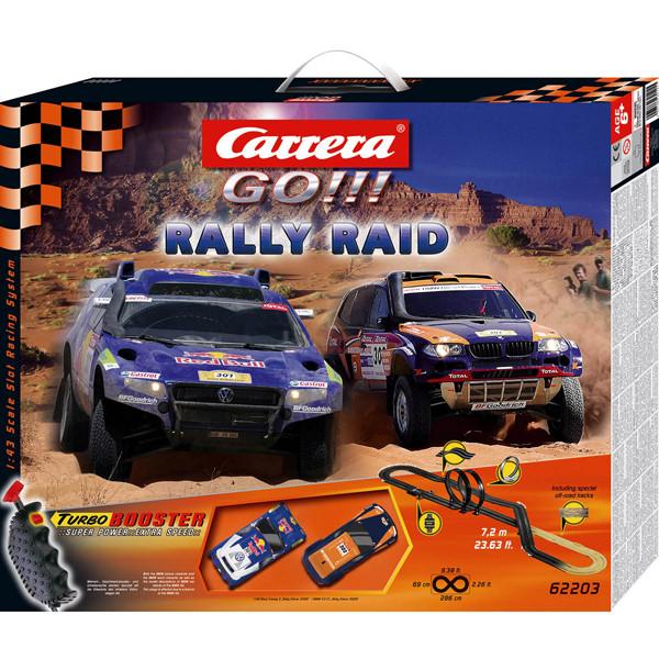 Carrera Go Rally Raid трек 7,2 м