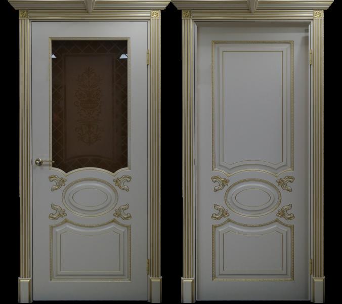 Дверь Галант со стеклом