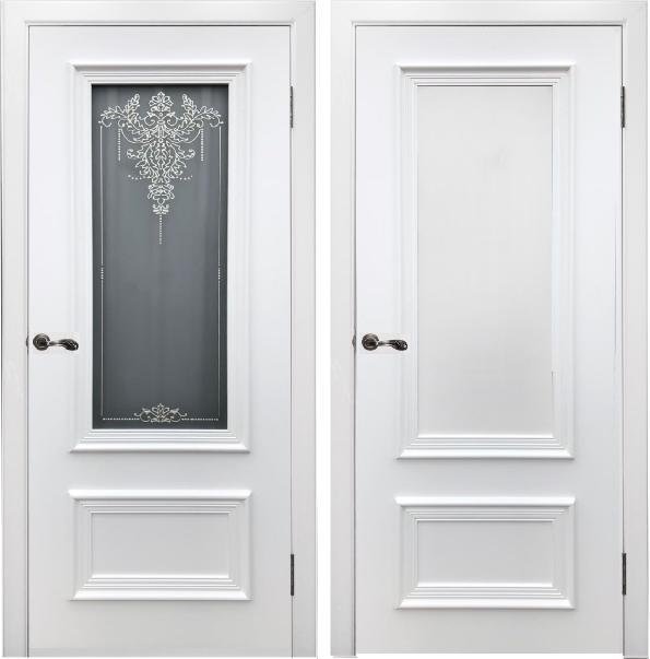 Дверь Премьер со стеклом