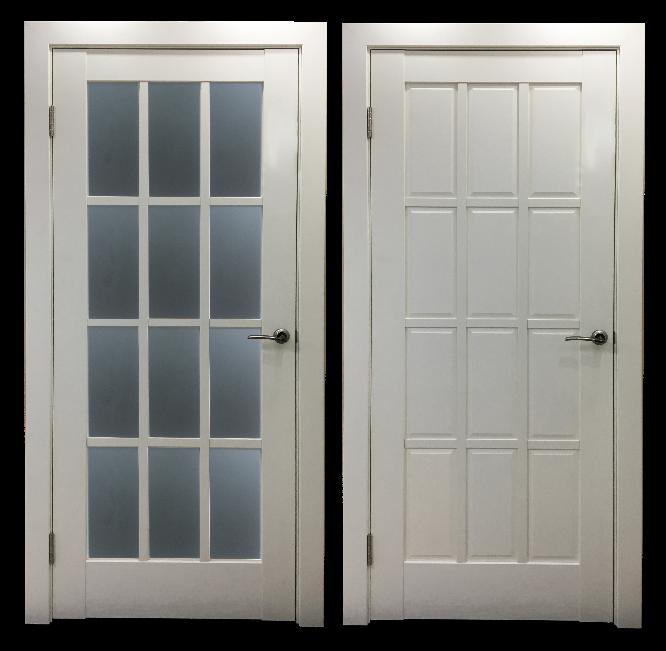 Дверь Стелла со стеклом