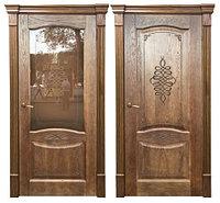 Дверь Наполи со стеклом