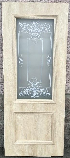 Дверь Ева со стеклом