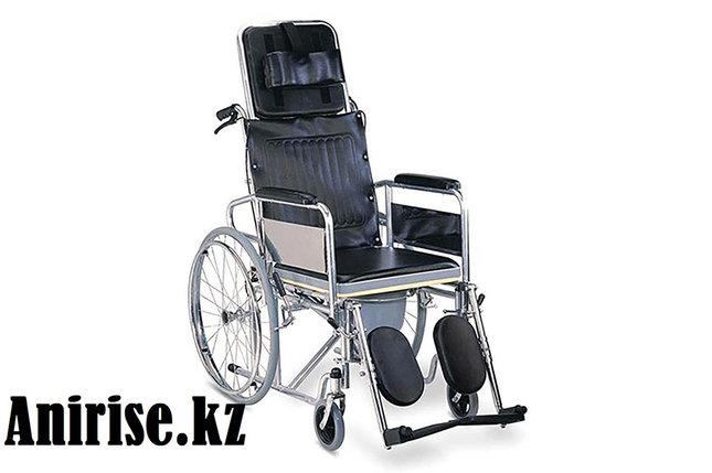 Коляска со стульчаком и регулируемой спинкой модель fs609-46gcu, фото 2