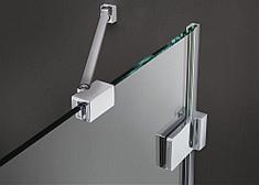 Дополнительное крепление для стеклянной шторки