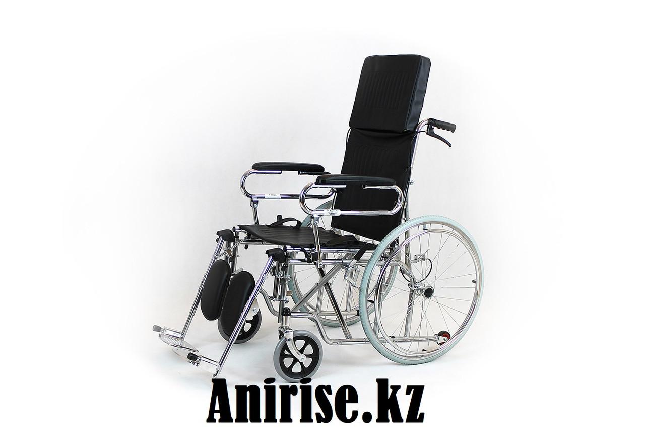 Инвалидная коляска с регулируемой спинкой модель fs902gc-46 (4640)