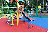Резиновое покрытие для детской площадки