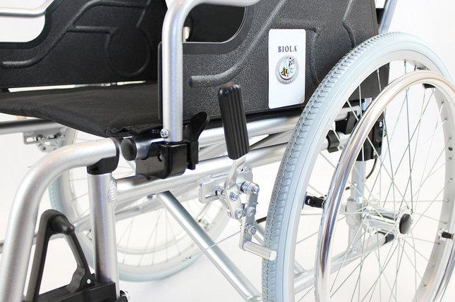 Коляска алюминиевая для инвалидов модель fs908l-46 (4661), фото 2