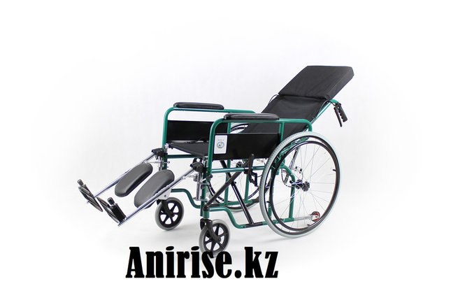 Коляска для инвалидов с регулируемой спинкой модель fs954gc-46 (4642), фото 2