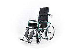 Коляска для инвалидов с регулируемой спинкой модель fs954gc-46 (4642)