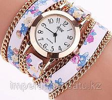 """Часы - браслет """"Цветочный"""""""