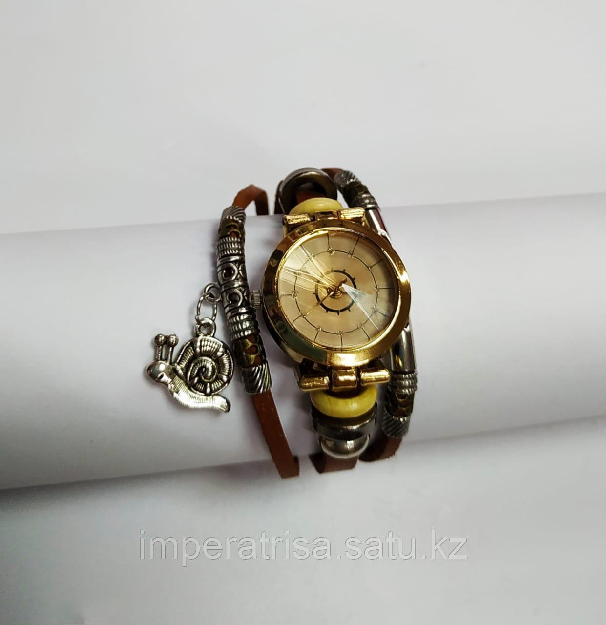 """Часы браслет """"Улитка"""" Brown"""