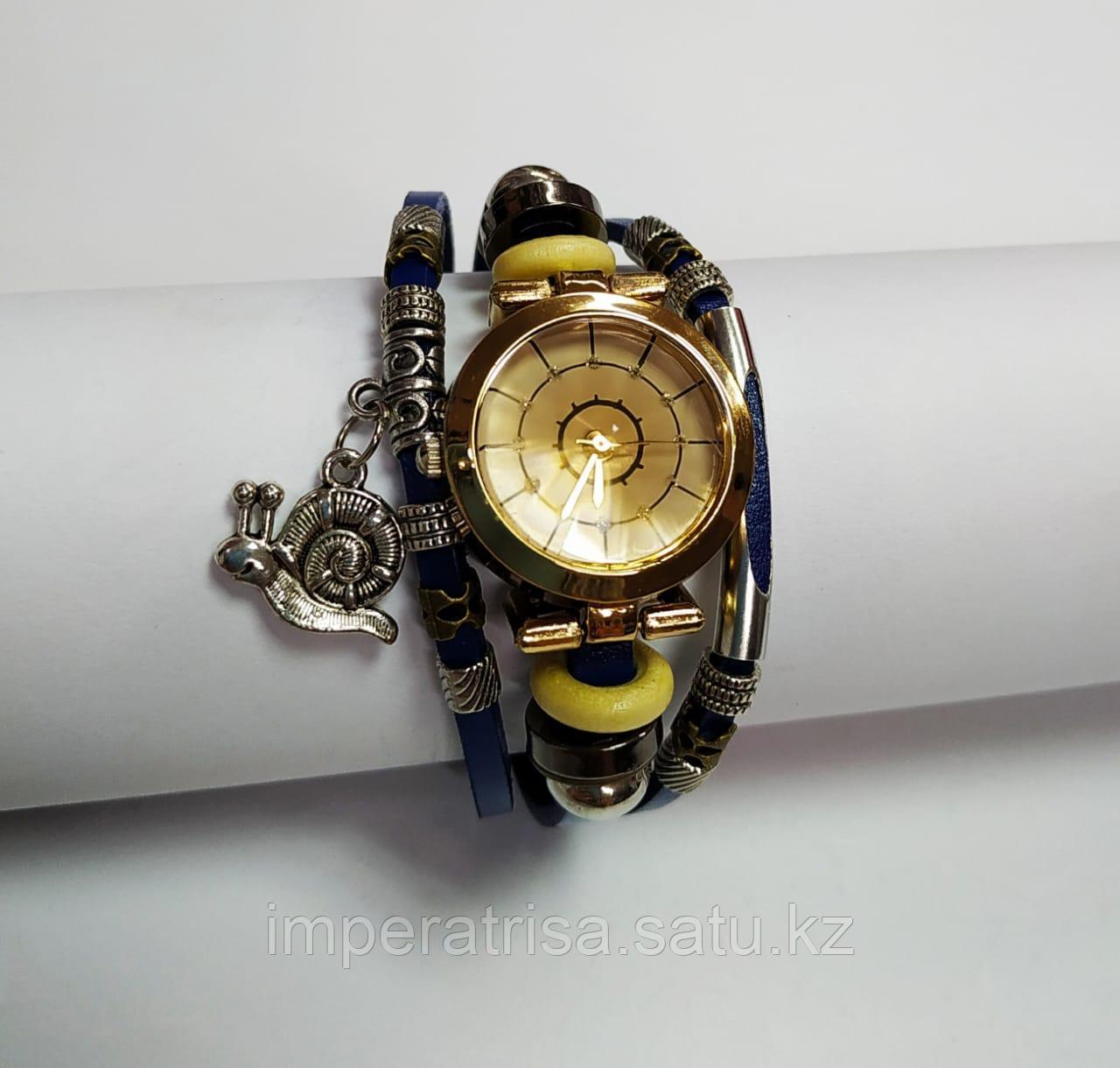 """Часы браслет """"Улитка"""" Blue"""