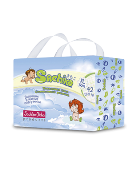 Sachiko подгузники упаковка XL size (42шт), фото 2