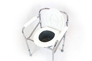 Стул-туалет с подлокотниками модель fs894-44, фото 2