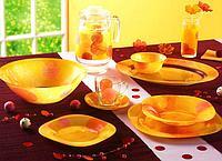 Столовый сервиз Luminarc Snow Flakes Orange 19 предметов  на 6 персон