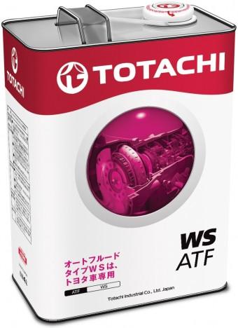 Трансмиссинное масло TOTACHI ATF WS в АКПП для автомобилей TOYOTA и LEXUS 4 литра