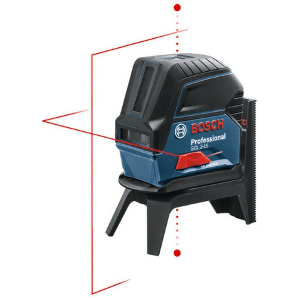 Линейный лазерный нивелир Bosch GCL 2-15 + RM1 + кейс