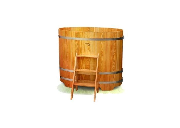 Купель из лиственницы 130 х 69 см Harvia