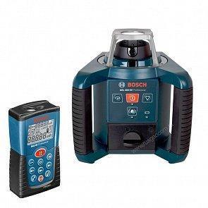 Ротационный лазерный нивелир Bosch GRL 300 HV + DLE40
