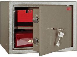 Взломостойкий (класс S1) мебельный сейф AIKO TM - 25 с ключевым замком BORDER