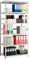 Стеллаж MS Standart 2550х1000х500, металлический, сборно-разборный, 5 полок