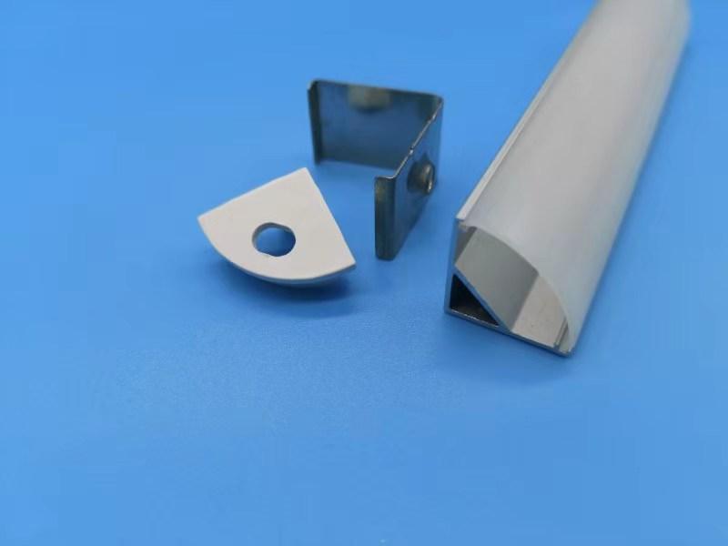 Алюминиевый профиль для светодиодных лент HC-008
