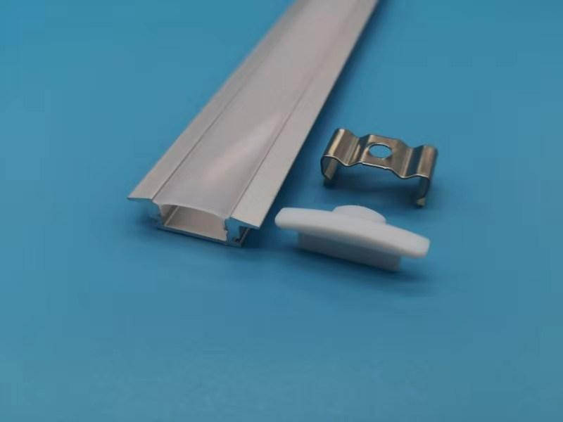 Алюминиевый профиль для светодиодных лент HC-014