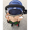 Органайзер сумка  на коляску капучино, фото 2