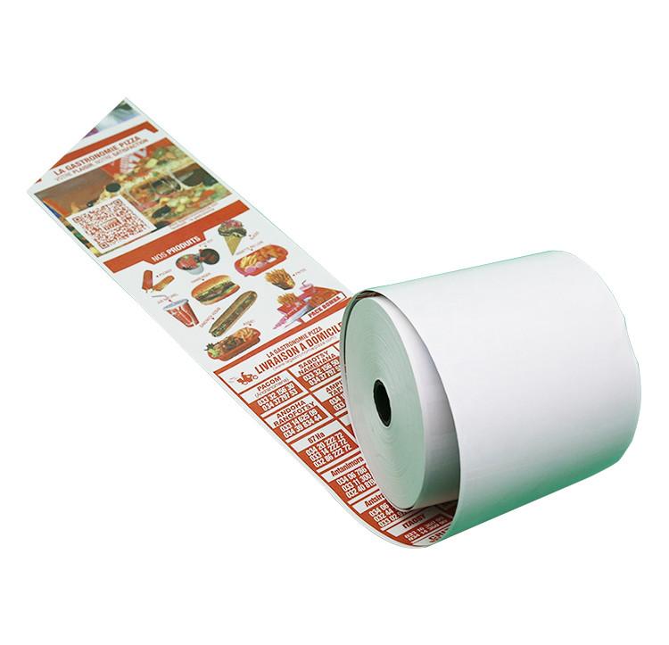Термоэтикетка бумага Thermal ТОР(с защитным слоем)