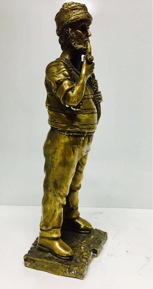 "Бронзовая статуэтка ""Моряк - фото 2"