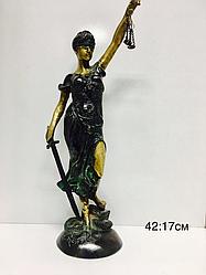 "Бронзовая статуэтка ""Фемида"""