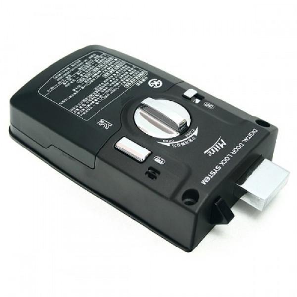 Накладной кодовый радиоуправляемый дверной замок невидимка Milre MI-310R