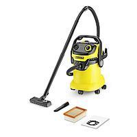KARCHER WD 5 - пылесос для сухой и влажной уборки