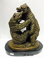 "Бронзовая статуэтка ""Медведи"""
