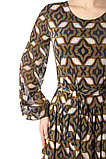 Длинное шифоновое женское платье. Россия. Wisell. Размеры: 46., фото 2