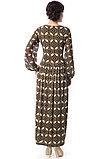 Длинное шифоновое женское платье. Россия. Wisell. Размеры: 46., фото 3