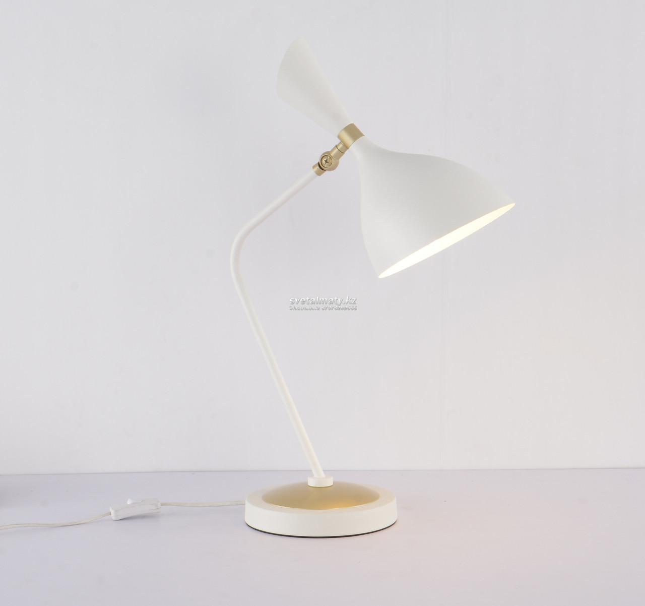 Настольная лампа в современном стиле Hiteck-Modern белая