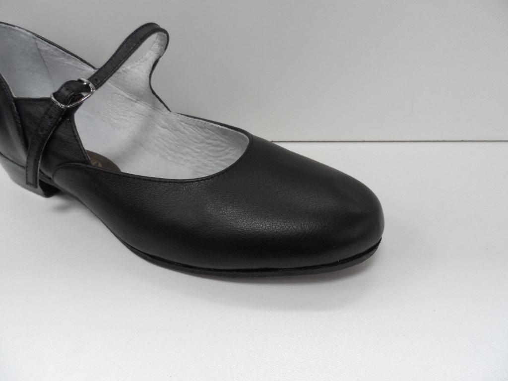 Туфли для народных танцев (черный) - фото 2