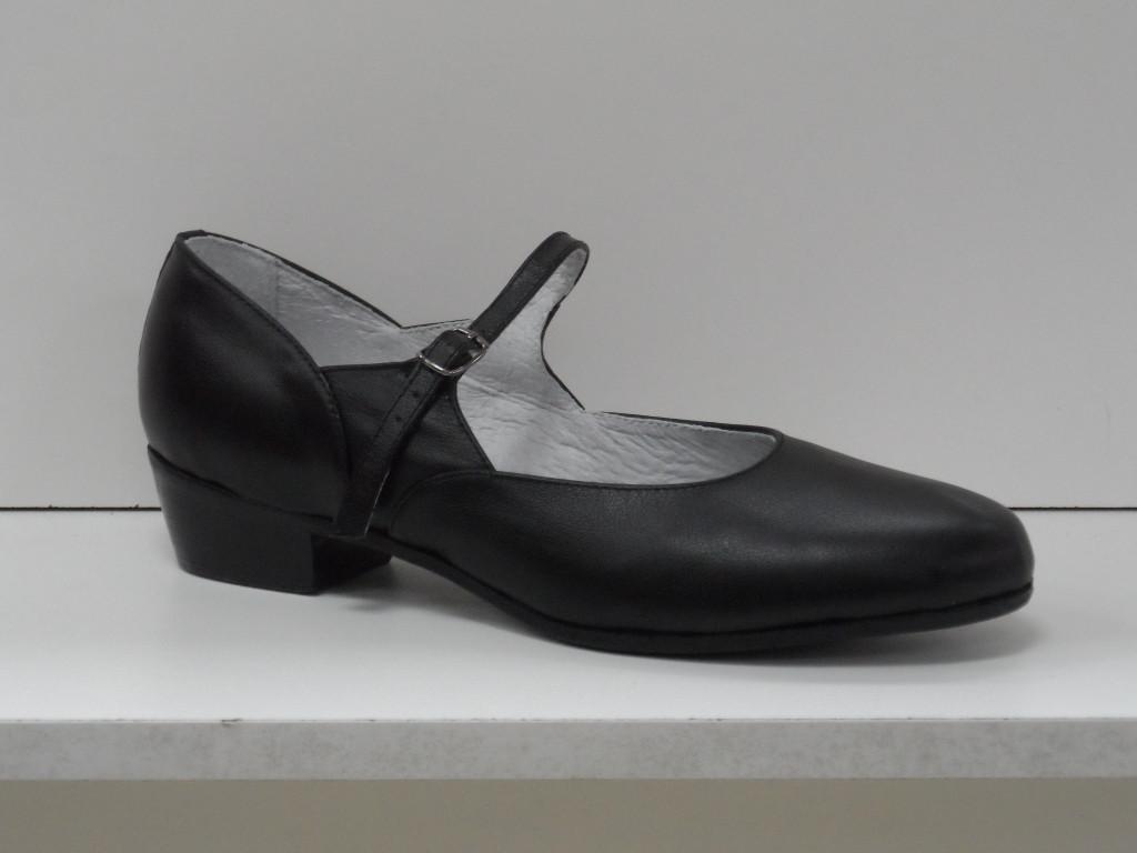 Туфли для народных танцев (черный) - фото 1